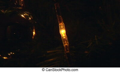 02, lumière, arbre, noël