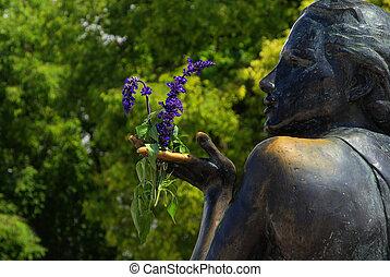 02, makarska, bronce, statue