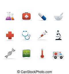 02 Medicine and Healt Care Icons