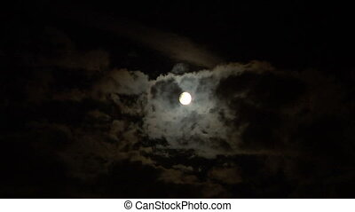 02, nuage, lune