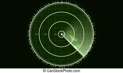 02, radar, schirmen ausstellung, (24fps)