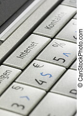 02, smartphone, tecla, internet