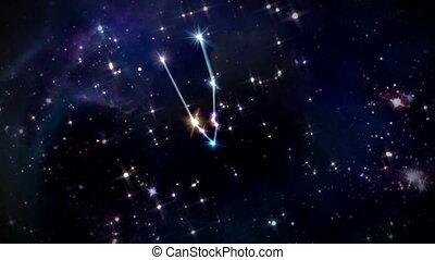 02 Taurus Horoscopes space rotation