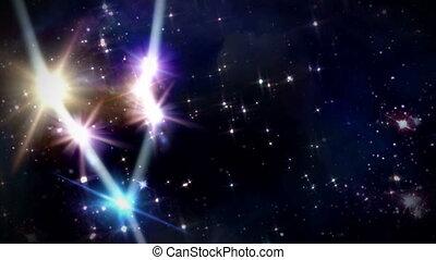 02 Taurus Horoscopes space track in