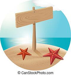 03, παραλία , θάλασσα , guidepost