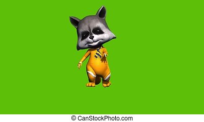Animated 3d Cartoon Foxy With Boxing Gloves On Green Background Funny 3d Animation Of A Cartoon Fox Foxy Wearing Boxing Canstock