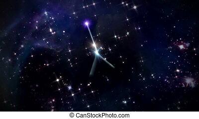 04 Cancer Horoscopes space rotation - the zodiac sign...
