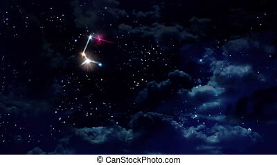05 Leo horoscopes of zodiac sign night
