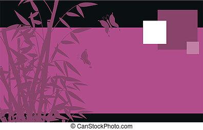 06, 背景, 竹