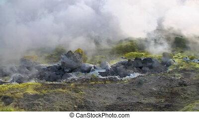 06, fumarole, vulcano