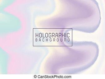 0604, résumé, holographic, effet, fond