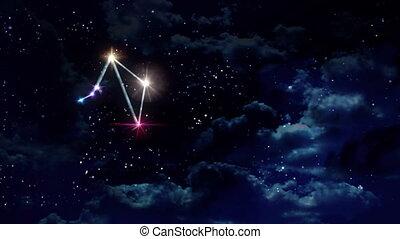 07 Libra horoscopes of zodiac sign night