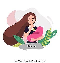 08 Woman feeding a baby