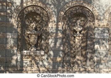 0rnamental Fasade - Ornamental Fasade on a Building in ...