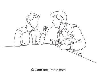 1(人・つ), others., 彼ら, 絶え間がない, それぞれ, 彼の, ベクトル, ドロー, 叫ぶこと, 若い, そして, 単一, 問題, イラストビジネス, 同僚, 指すこと, ビジネスマン, デザイン, とんび描画, 概念, 線, 責任にすること, 怒る