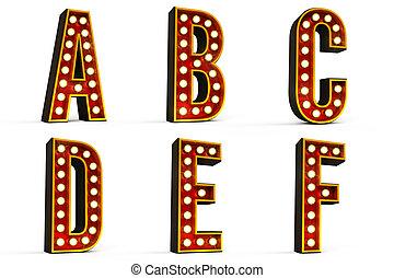 1 , αλφάβητο , τμήμα , θέτω , -