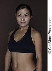 1 , ασιατικός γυναίκα