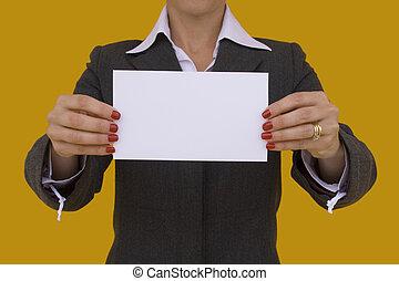 1 , επιχειρηματίαs γυναίκα , κάρτα
