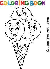 1 , μπογιά αγία γραφή , παγωτό