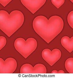 1, לב, תימה, seamless, רקע