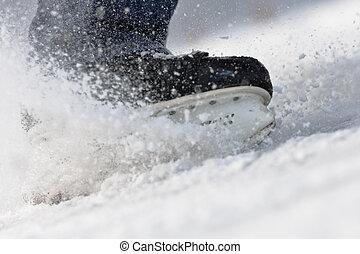 1, スケート