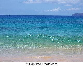 1, -, ハワイ, 海岸線