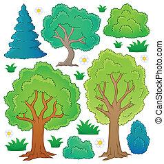 1, 主題, 樹, 彙整
