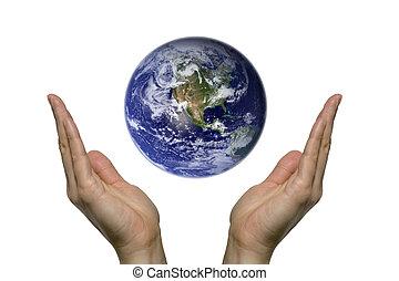 1, 地球, 祈ること