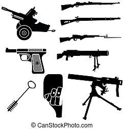1, 武器