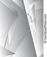 1, 灰色, 抽象的, -, 背景