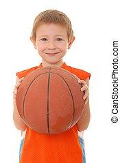 1, 男の子, バスケットボール