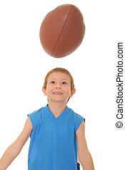 1, 男の子, フットボール