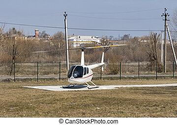 1, 直升飛机,  Robinson,  r44, 掠奪