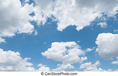 (1), 空, 背景