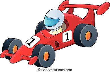 1, 自動車, 主題, 競争, イメージ