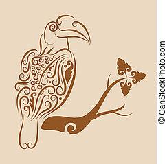 1, 装飾, 鳥