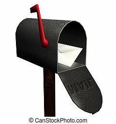 1, 郵件, 你, 有