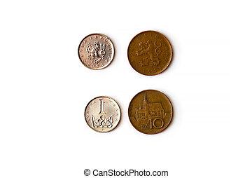 Czech crown coin, CZK