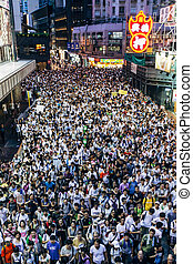 1, 2014, juillet, protestation