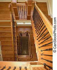 1, 5, -, luxe, escalier