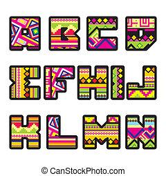 1), alphabet, (part, mexicain