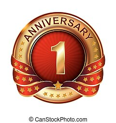 First anniversary symbol