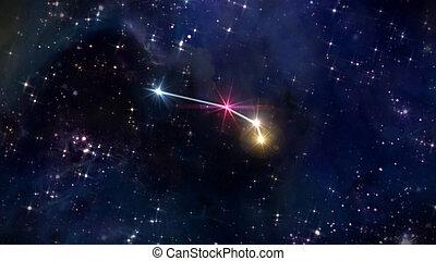 1 Aries Horoscope star