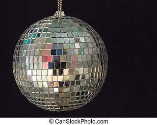 1, balle, brillant, disco