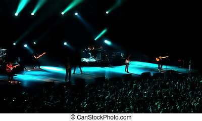 1, banda, koncert, skała