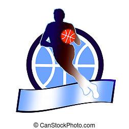 1, basket-ball, signe