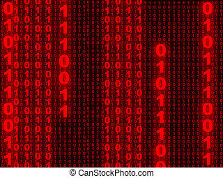 1, binair, achtergrond