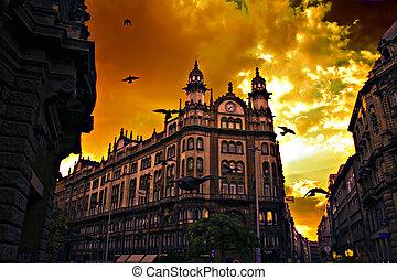 1, budapest, architektonisch, schoenheit