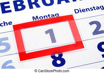 1 calendar day