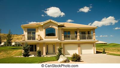 1, casa, lusso